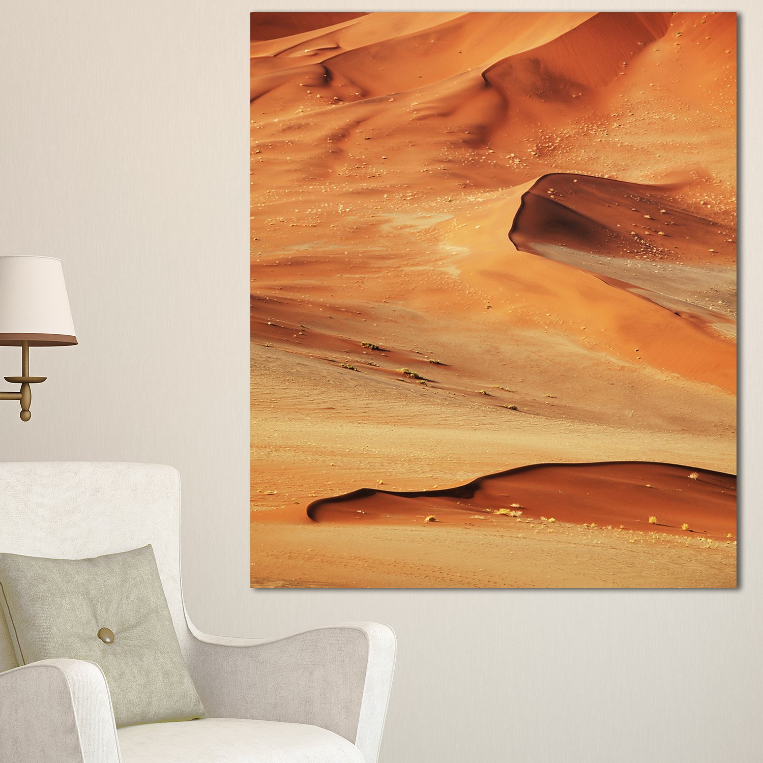 Designart Mt12768 40 48 Beautiful Brown Sand Desert Extra Large Landscape Metal Wall Art 40x48 Brown 40x48 Amazon In Home Kitchen