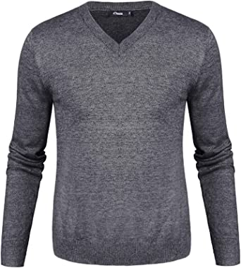 iClosam Hombre Jersey De Punto Cremallera Calentito Redondo SuéTer De Cuello Redondo Longsleeve Camisa SuéTer Sweater: Amazon.es: Ropa y accesorios