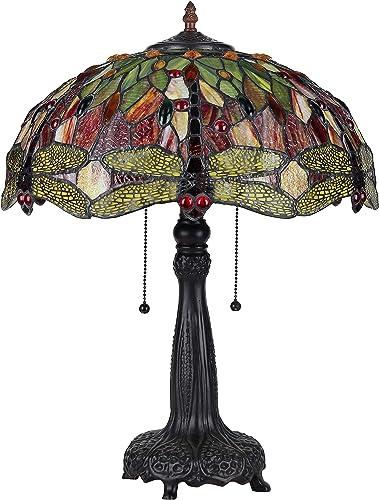 Chloe CH33471RD18-TL2 Table Lamp