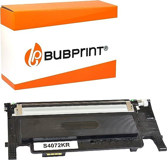 Bubprint Toner Kompatibel Für Samsung Clt K4072s Für Clp 320 Clp 320n Clp 325 Clp 325n Clp 325w Clx 3180 Clx 3185 Clx 3185fn Clx 3185fw Clx 3185n Clx 3185w Schwarz Bürobedarf Schreibwaren