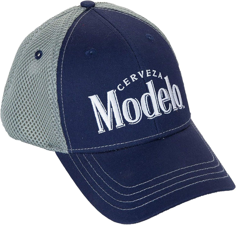 Calhoun Cerveza Modelo Mesh Back Trucker Hat Navy