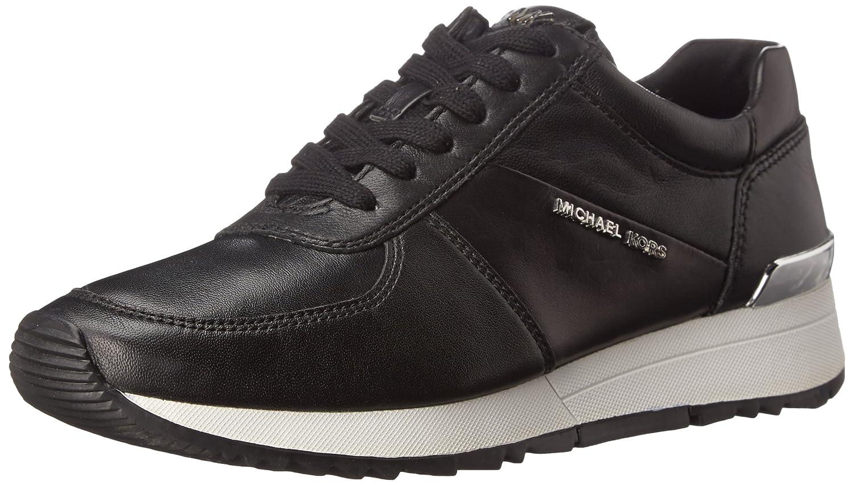 Outlet Online Womens Casual Shoes - Michael Kors Allie Black Suprema Nappa Sport/Saffiano