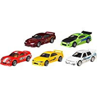 Mattel Hot Wheels Premium Bundle - Fast & Furious Vehicles [Amazon Exclusive]