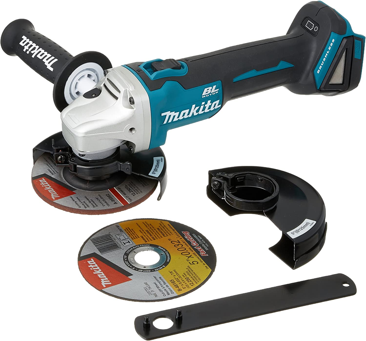 "Makita XAG09Z 18V LXT Lithium-Ion, Brushless, Cordless 4 ½"" Angle Grinder"