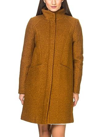 on sale 6c634 4b967 ICHI Damen Mantel braun Gr. Small, MLG - Bronze Brown ...