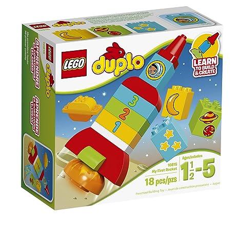 Amazon.com: LEGO DUPLO My First Rocket 10815, Preschool, Pre ...