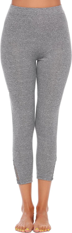 Womens Yoga Leggings Pants Skinny Mesh Workout Gym Pants Yoga Tights