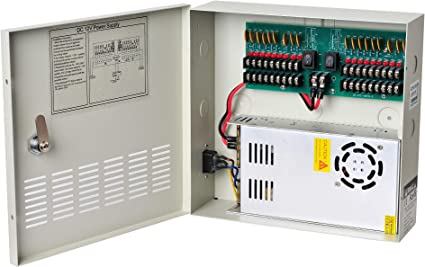 [SCHEMATICS_48EU]  Amazon.com: EVERSECU 18 Channel DC12V 30 Amp Reset Fuse CCTV DC Distributed  Power Box with AC Plug and Lock for Security Cameras, DVRs, CCTV Power  Supply: Home Audio & Theater | Security Fuse Breaker Box |  | Amazon.com