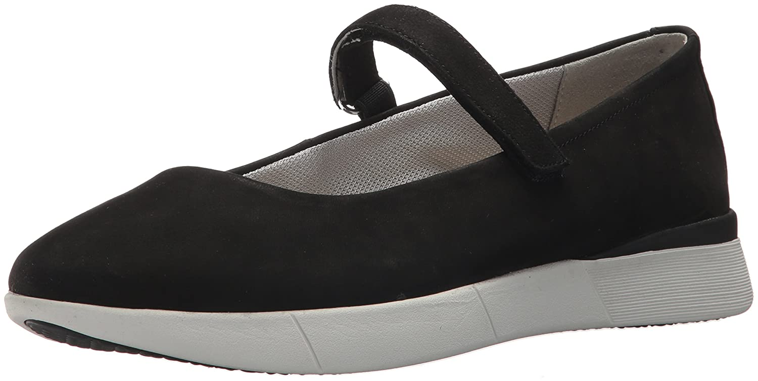 Easy Spirit Women's Cacia9 Mary Jane Flat B077Y8N94S 8 B(M) US|Black
