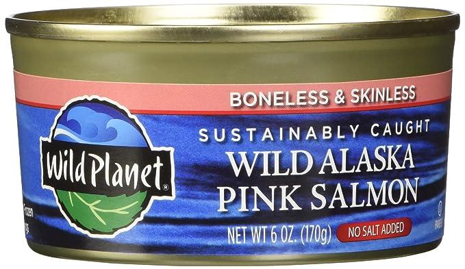 Wild Planet Salmon Pink Wild