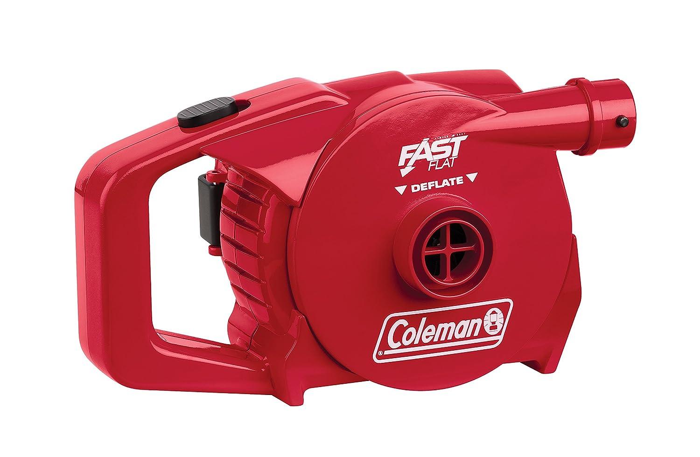 Coleman Rechargeable UK - Bomba eléctrica para Acampada, Color Rojo, Talla Rechargeable 12v 230v Coleman UK Ltd 2000019879