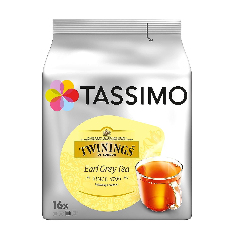 Tassimo Twinings T-Discos Capsulas Te Earl Grey: Amazon.es ...