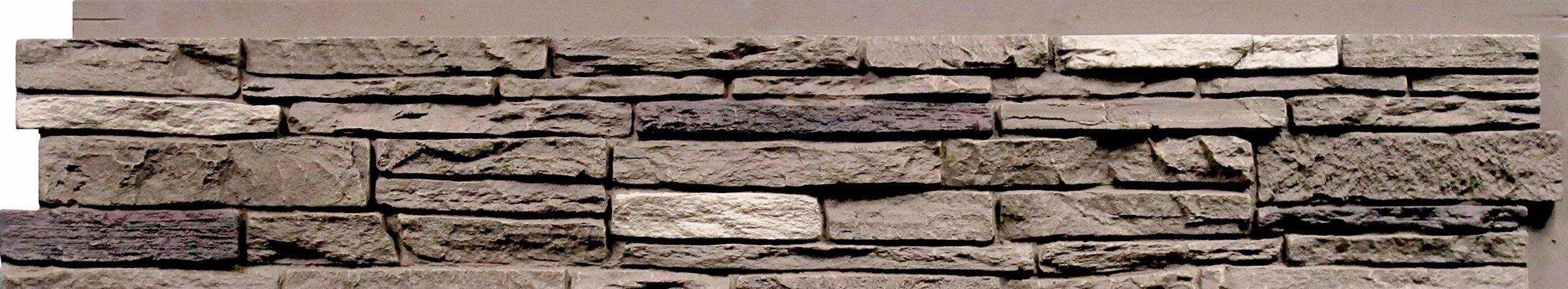 NextStone Slatestone Panel Brunswick Brown (8 Panels Per Box)(17.12 Sq. Ft. Per Box)