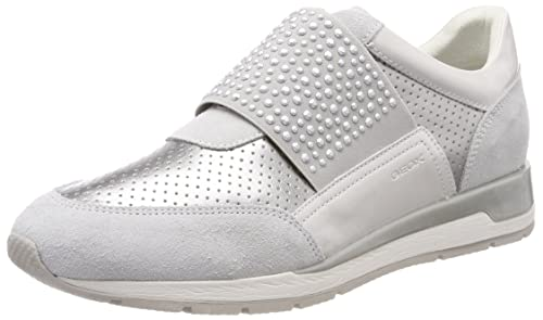 Geox Women's D Shahira A Low-Top Sneakers Size: 7.5 UK Discount Low Price From China For Sale Cheap Sale Recommend Discount View The Cheapest Cheap Online VahEoy