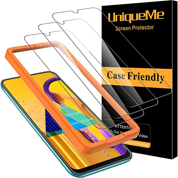 UniqueMe [3 Pack] Cristal Templado para Samsung Galaxy M30s / A50s ...
