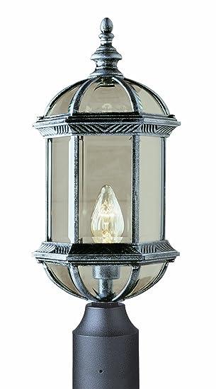 Trans Globe Lighting 4186 Bk Outdoor Wentworth 19 75 Quot Postmount Lantern
