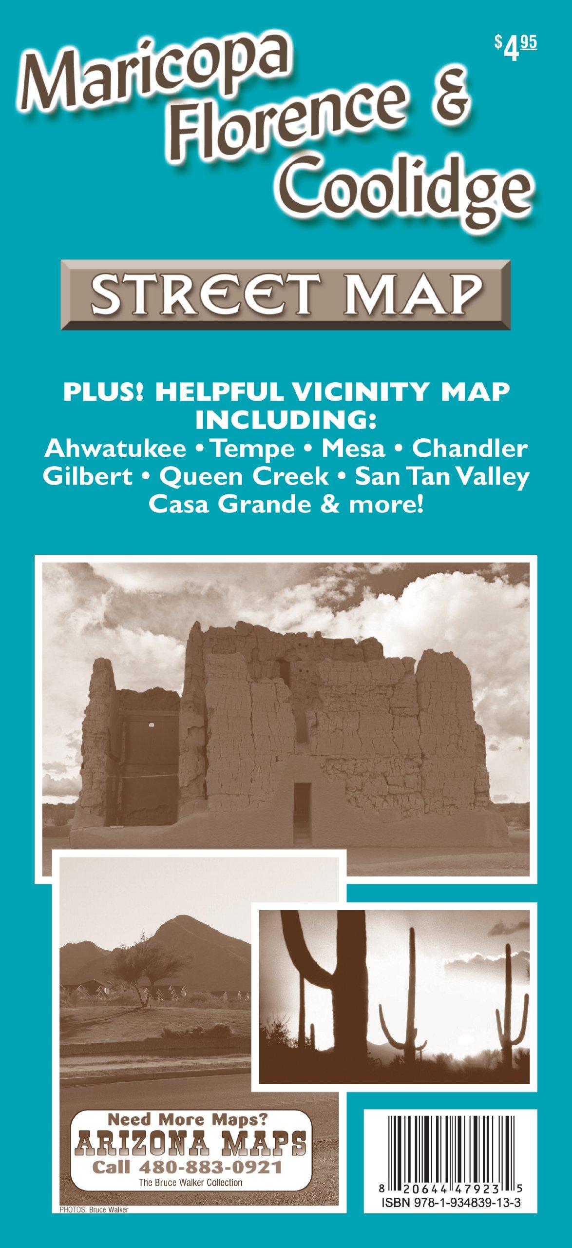 Read Online Maricopa, Florence, & Coolidge Street Map pdf