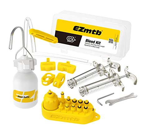 f6f7e21abc5 Image Unavailable. Image not available for. Color: EZMTB Bicycle Bleed kit  for Shimano magura tektro Hayes Formula avid sram ...