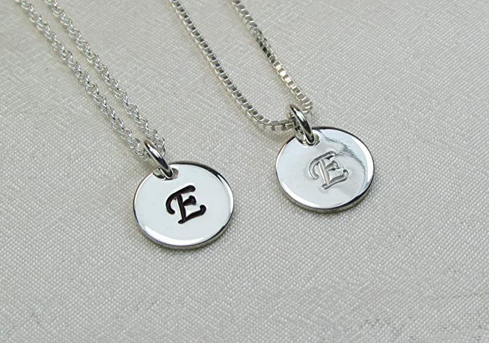 83494cddab06f Amazon.com: Personalized Necklace for Women Initial Necklace ...