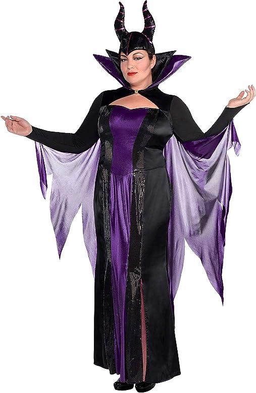 SUIT YOURSELF Disfraz de Maléfica para Mujer, Talla Grande ...