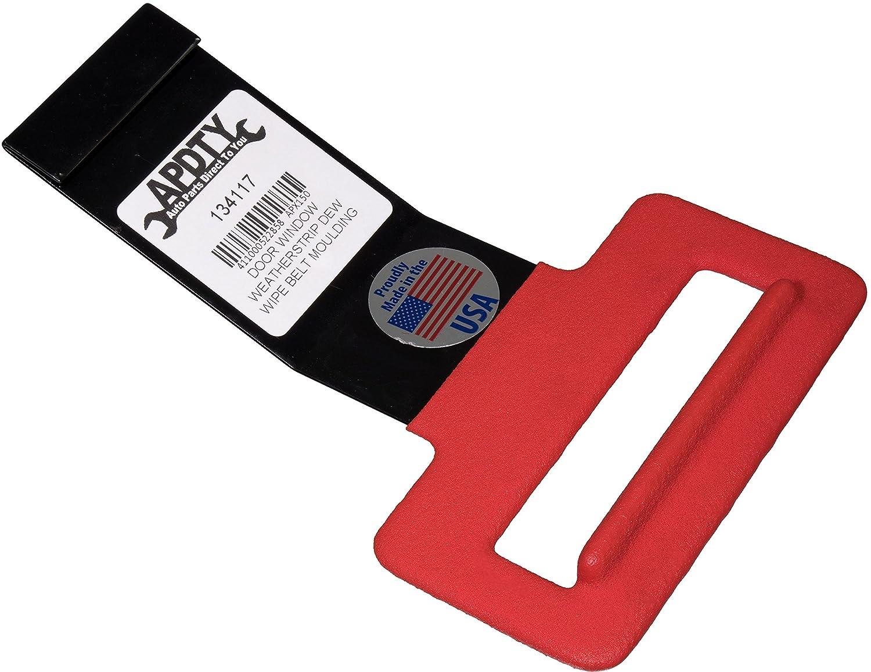 APDTY 134117 Door Window Weatherstrip Dew Wipe Belt Moulding Removal Pull Tool