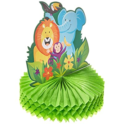Jungle Safari Centerpiece, 1 ct: Toys & Games