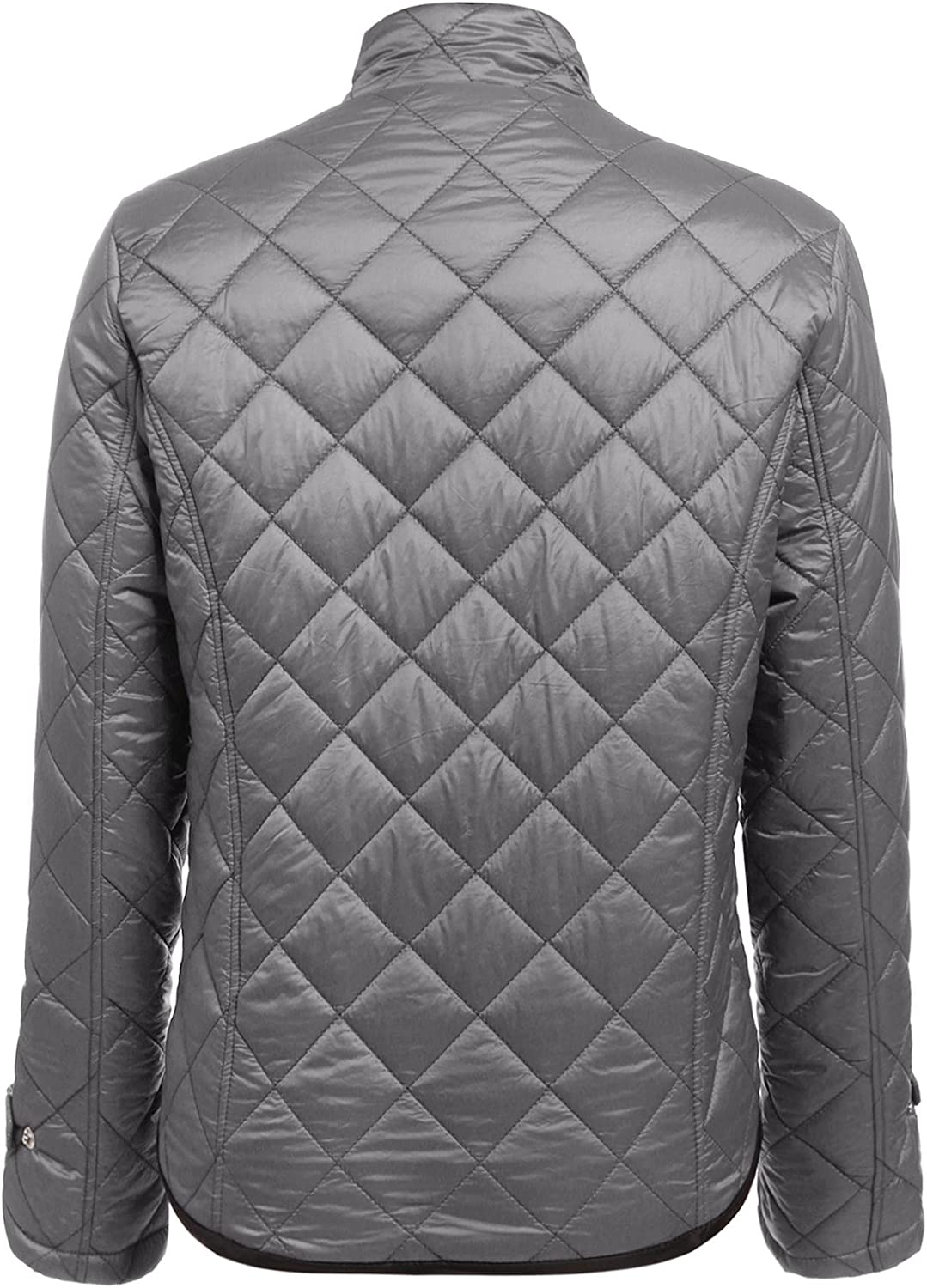 Zeagoo Womens Winter Hooded Anorak Safari Jacket Quilted Lined Trench Coats