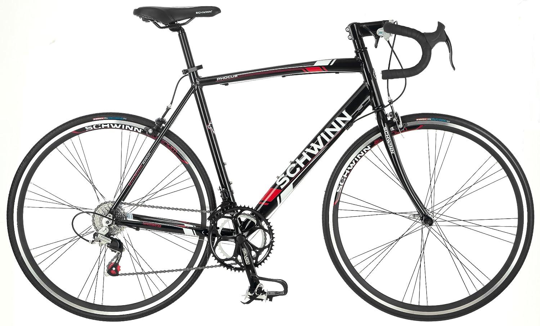 Amazon.com : Schwinn Men's Phocus 1400 700C Drop Bar Road Bicycle ...