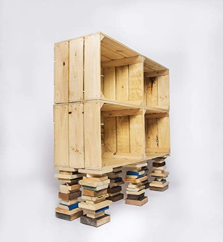 estanterías de cajas de madera estanterías de cajas de fruta ...
