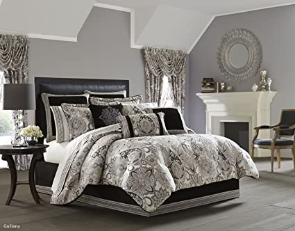 Amazon Com Guiliana Comforter Set King By J Queen New York Home