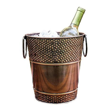 Amazon.com: brekx Berkshire Cobre Acabado cubeta de vino ...
