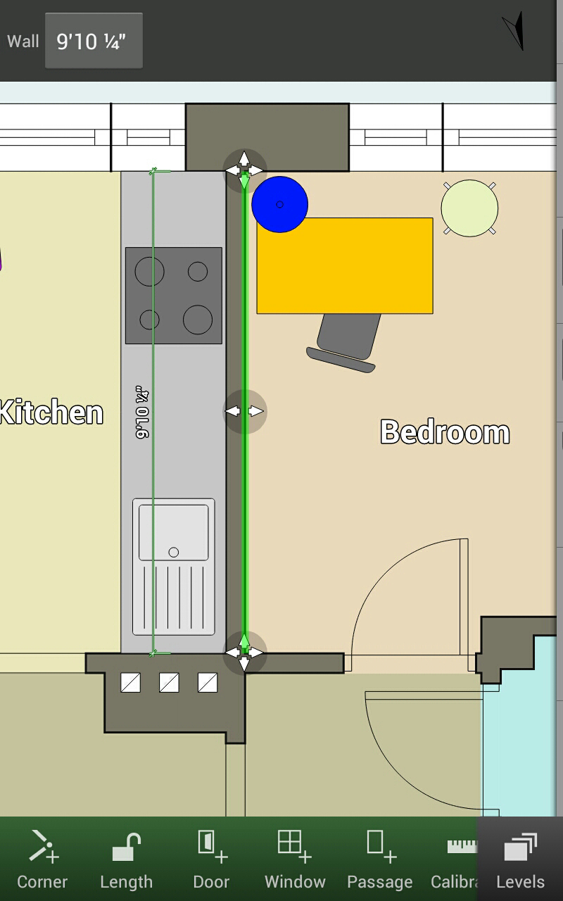1 Bedroom Apartment Floor Plan Free Android App Floor