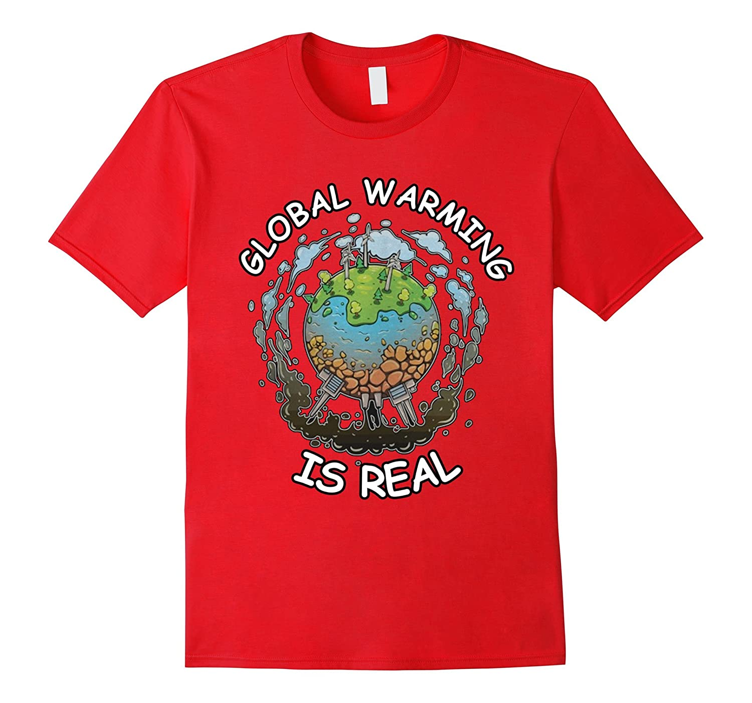 Global Warming Is REAL Peoples Climate March T-shirt-TD