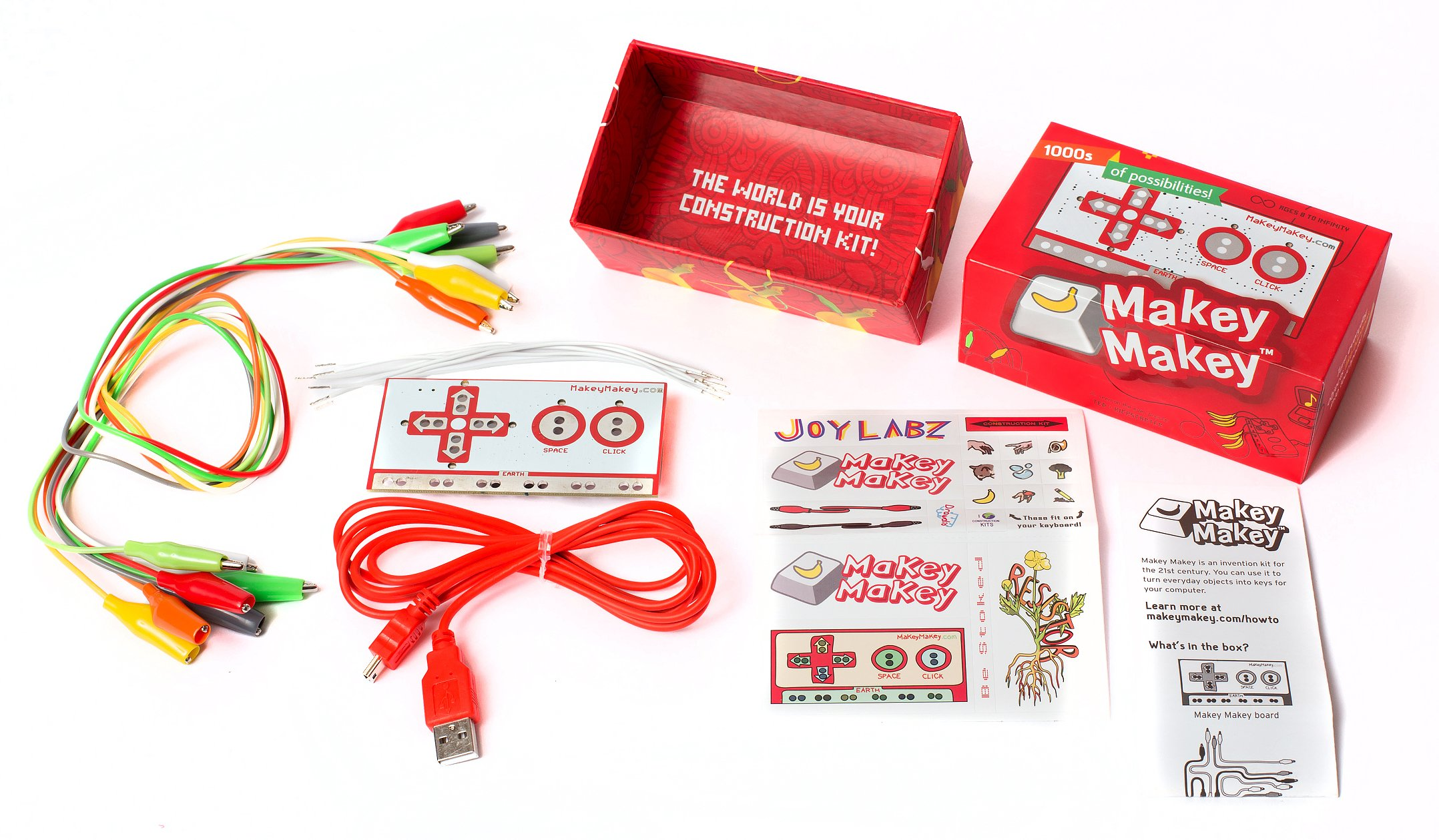 Makey Makey An Invention Kit For Everyone by JoyLabz