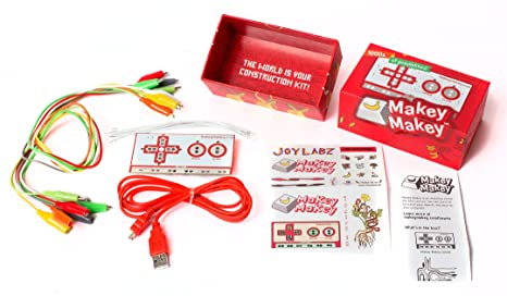 Makey Makey - An Invention Kit for Everyone Electronic Learning Toys & Kits at amazon