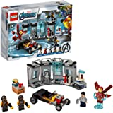 LEGO Marvel Avengers Iron Man Armory 76167 Building Kit (258 Pieces)