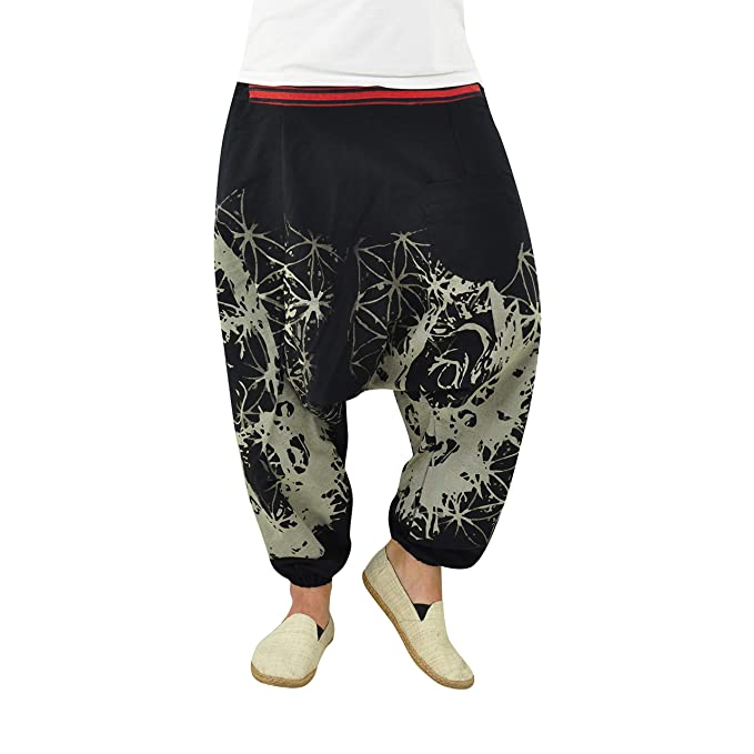 virblatt – Pantalones de harén para Hombre y Mujer, como Ropa Hippie, Yoga, Ropa – DerSchelm