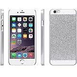 """iProtect iPhone 6 (4,7"""") Coque paillettes Flash Powder Hard Case argenté 79"""