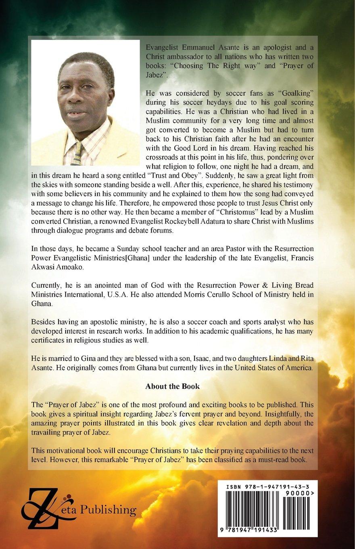 The Prayer of Jabez: Emmanuel Asante: 9781947191433: Amazon