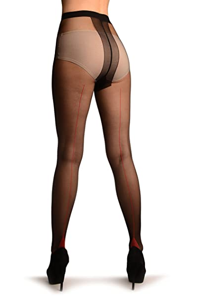 ae51b82e8 Image Unavailable. Image not available for. Color  Black With Red Seam And Cuban  Heel ...
