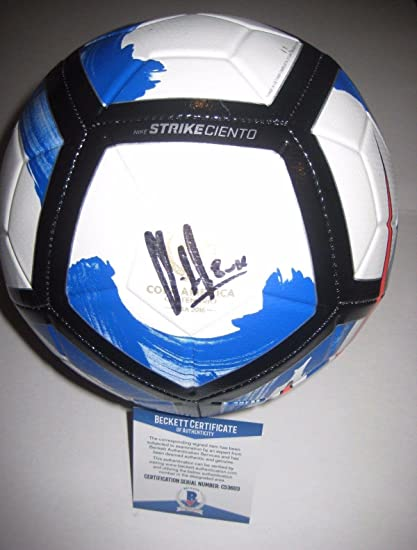 newest b5d22 185ab CLINT DEMPSEY (Seattle Sounders) Signed Nike SOCCER BALL w Beckett COA -  Beckett
