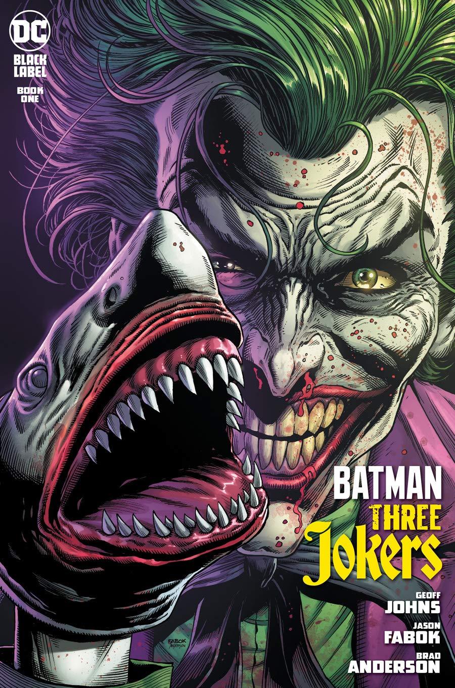 FISH VARIANT THREE JOKERS #1 ~ Geoff Johns /& Jason Fabok ~ DC Comics BATMAN
