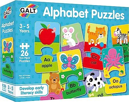 Galt America - Puzzle de 26 piezas (Galt 1105047) [Importado] , color/modelo surtido: Amazon.es: Juguetes y juegos