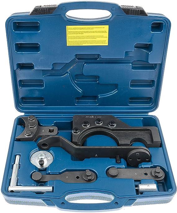 Motor Einstellwerkzeug Touareg und Phaeton Arretierwerkzeug Steuerkette Audi VW
