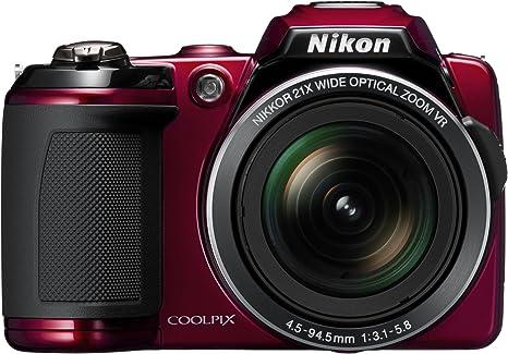 Nikon Coolpix L120 - Cámara Digital compacta (14.1 MP, Zoom óptico ...