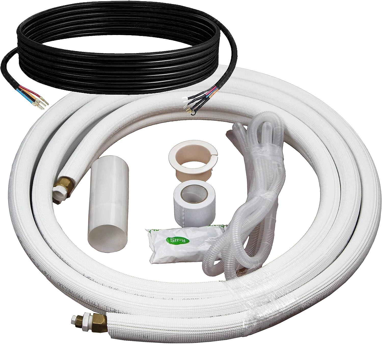 Klimaire 18,000 Btu Light Commercial Ceiling Cassette Inverter Heat Pump System 208-230V