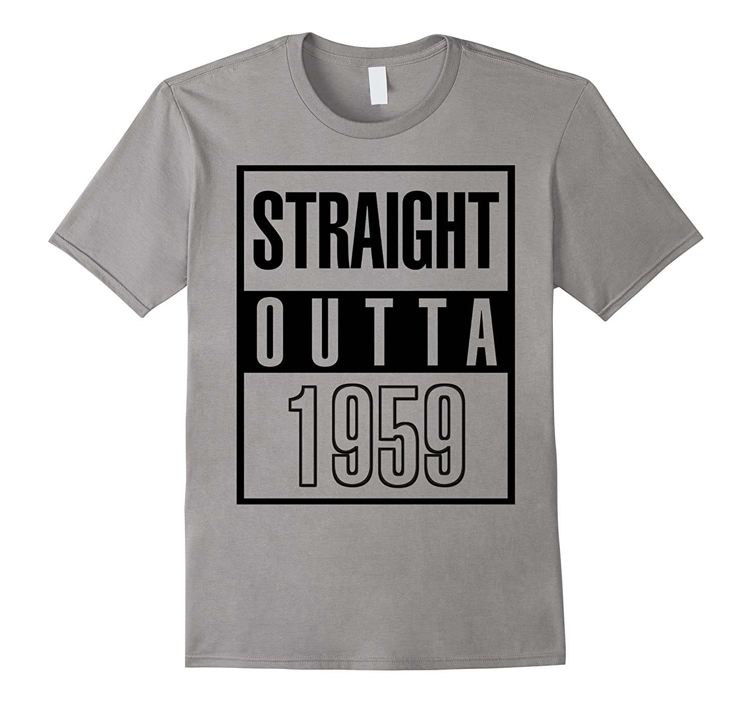 1959 58th Years Old Funny Birthday Gift T-Shirt-4LVS