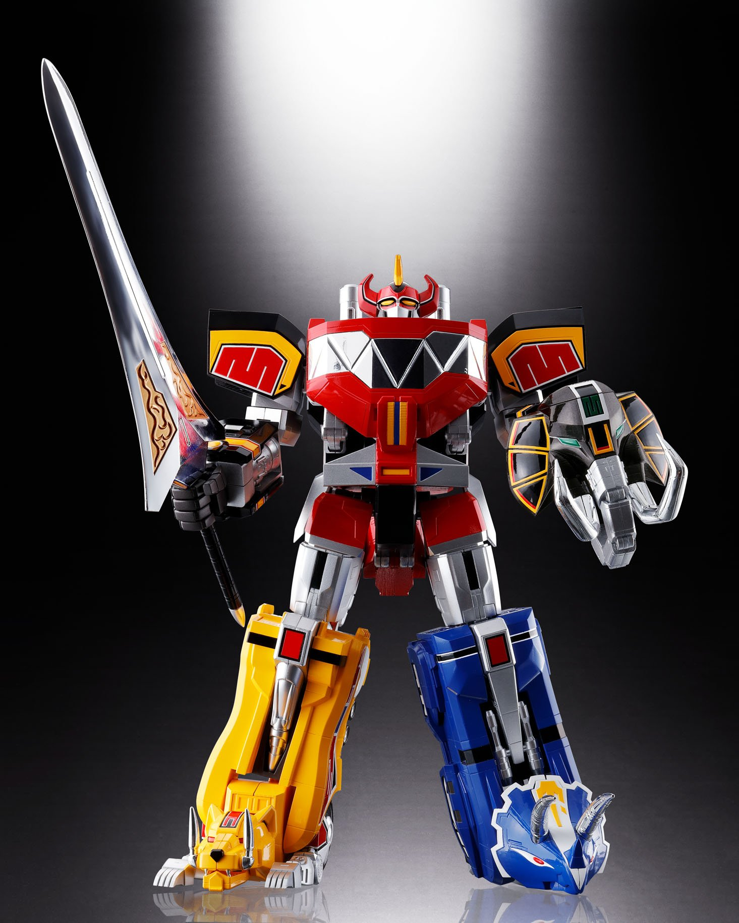 Bandai Tamashii Nations Soul of Chogokin Mighty Morphing Power Rangers Action Figure by Bandai (Image #15)