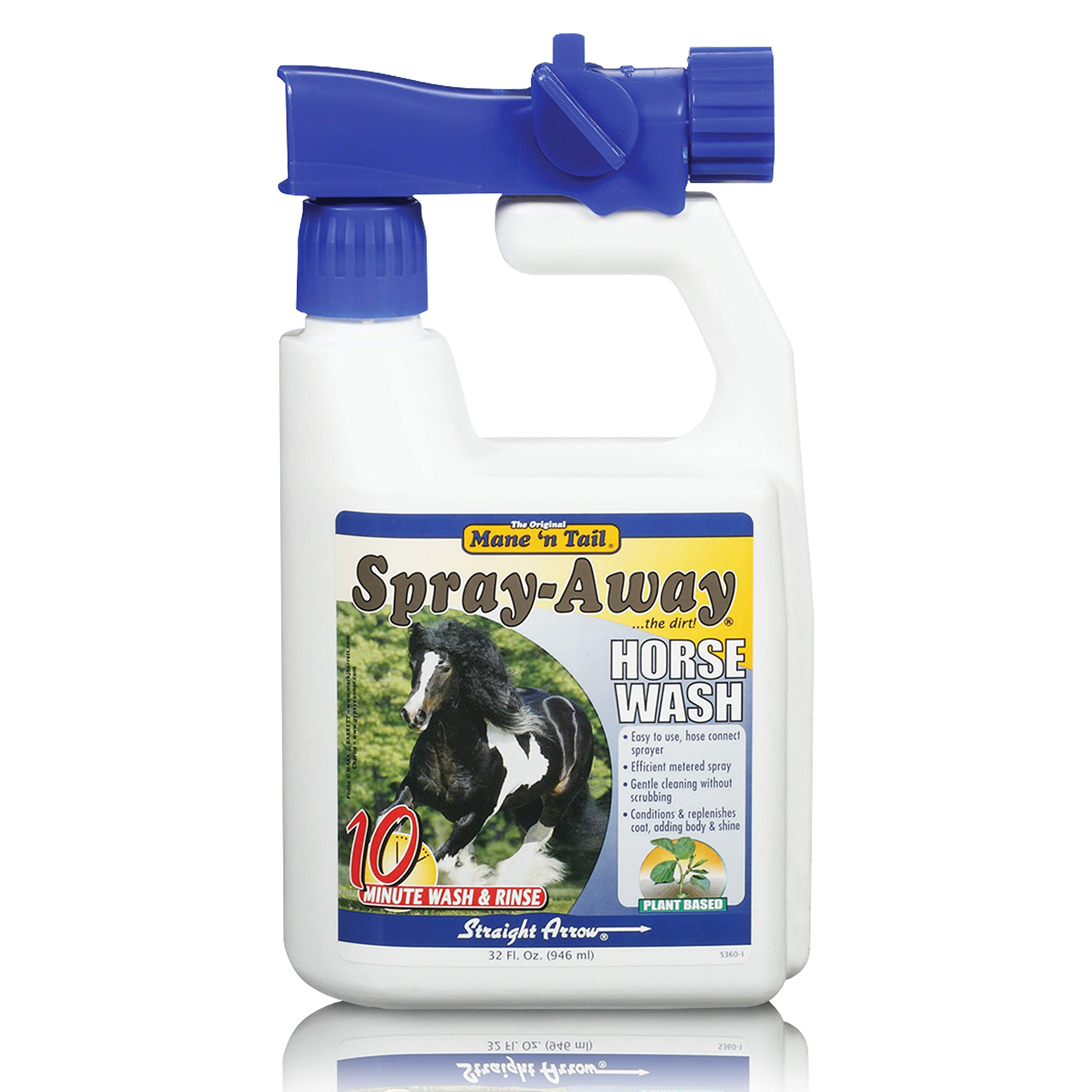 Mane 'n Tail Spray-Away Plant Based Body Wash for Horses