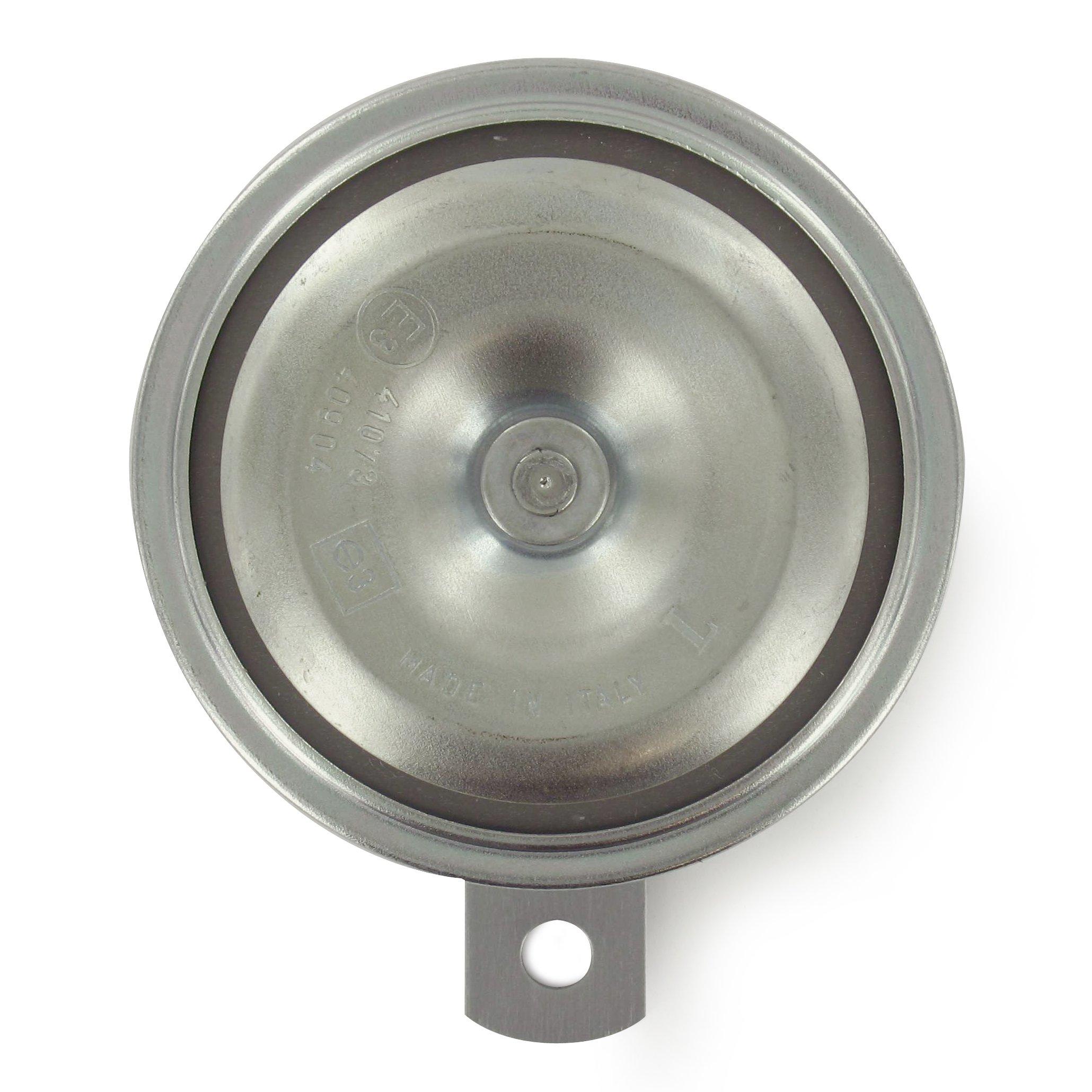 Intella 04081030 Forklift Horn, 36-48V, 112 Decibel Output, 90 mm Diameter, Low Tone